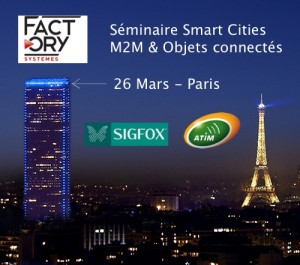 Séminaire Smart Cities – Paris
