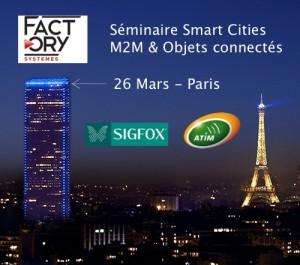 Séminaire Smart Cities – Paris